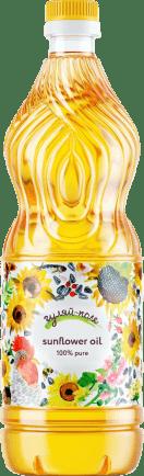 Sunflower oil refined deodorized  Гуляй-поле 1L  920 g