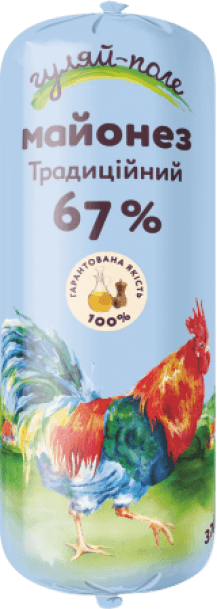 Mayonnaise Traditional Гуляй-поле Tube 370 g