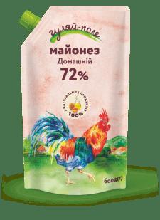 Майонез Домашній Гуляй-поле Д/пак 600 гр.
