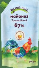Майонез Традиційний Гуляй-поле Д/пак 350 гр.