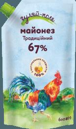 Майонез Традиційний Гуляй-поле Д/пак 600 гр.