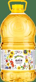 Соняшникова олія рафінована  Гуляй-поле 5L 4600 гр