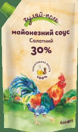 Майонезний соус Салатний Гуляй-поле Д/пак 600 гр.
