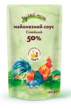 Майонезний соус Сімейний Гуляй-поле Д/пак 160 гр.