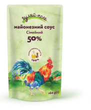 Mayonnaise sauce For family Гуляй-поле Doy-pack 160 g.