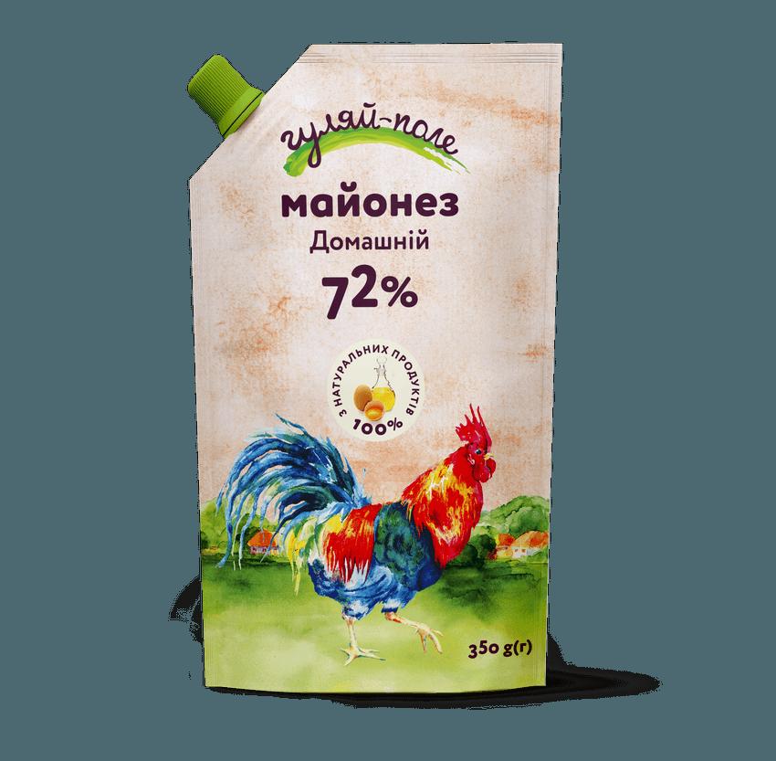 Mayonnaise Homely Гуляй-поле Doy-pack 350 g