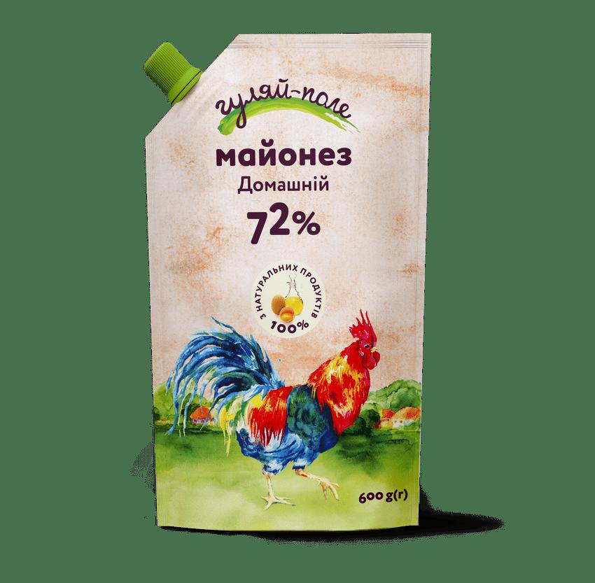 Mayonnaise Homely Гуляй-поле Doy-pack 600 g
