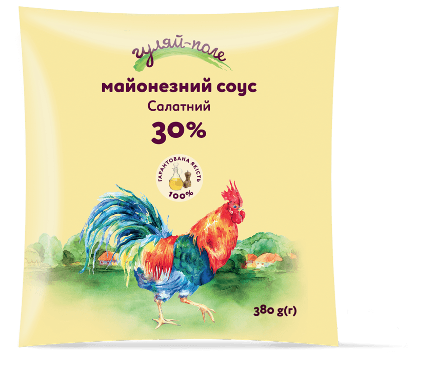Mayonnaise sauce For a salad Гуляй-поле Fil-pack 380 g