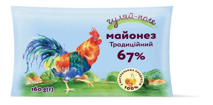 Mayonnaise Traditional Гуляй-поле Fil-pack 160 g