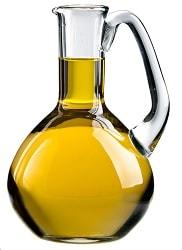 Чому рослинна олія любить скляний посуд