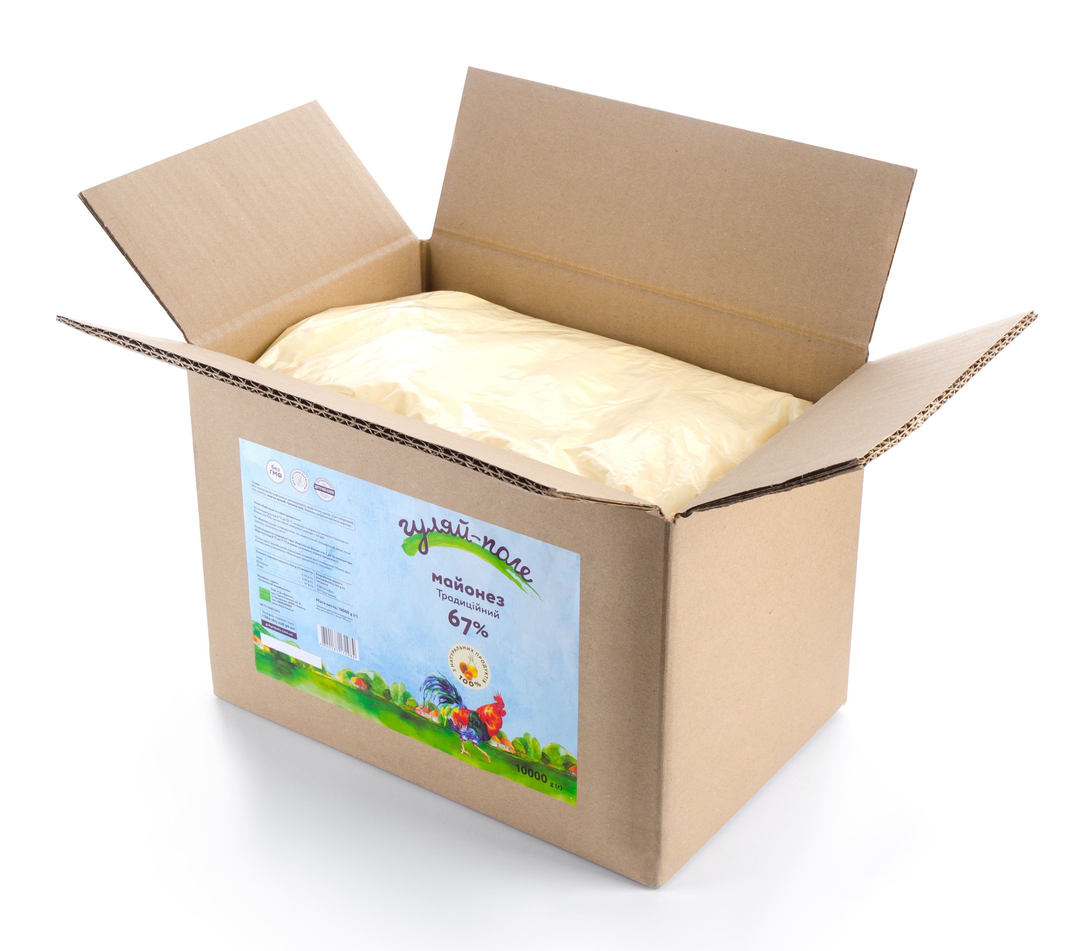 Mayonnaise Traditional Гуляй-поле Box 10 kg