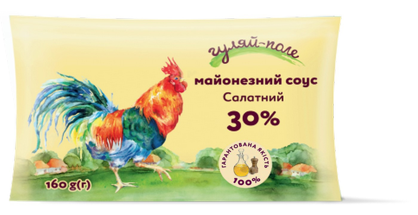 Mayonnaise sauce For a salad Гуляй-поле Fil-pack 160 g