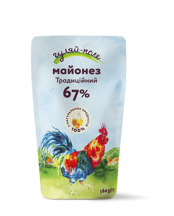 Mayonnaise Traditional Гуляй-поле Doy-pack 160 g