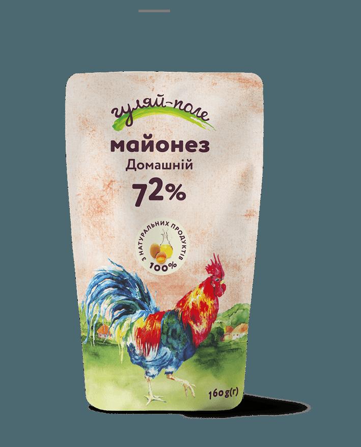 Mayonnaise Homely Гуляй-поле Doy-pack 160 g