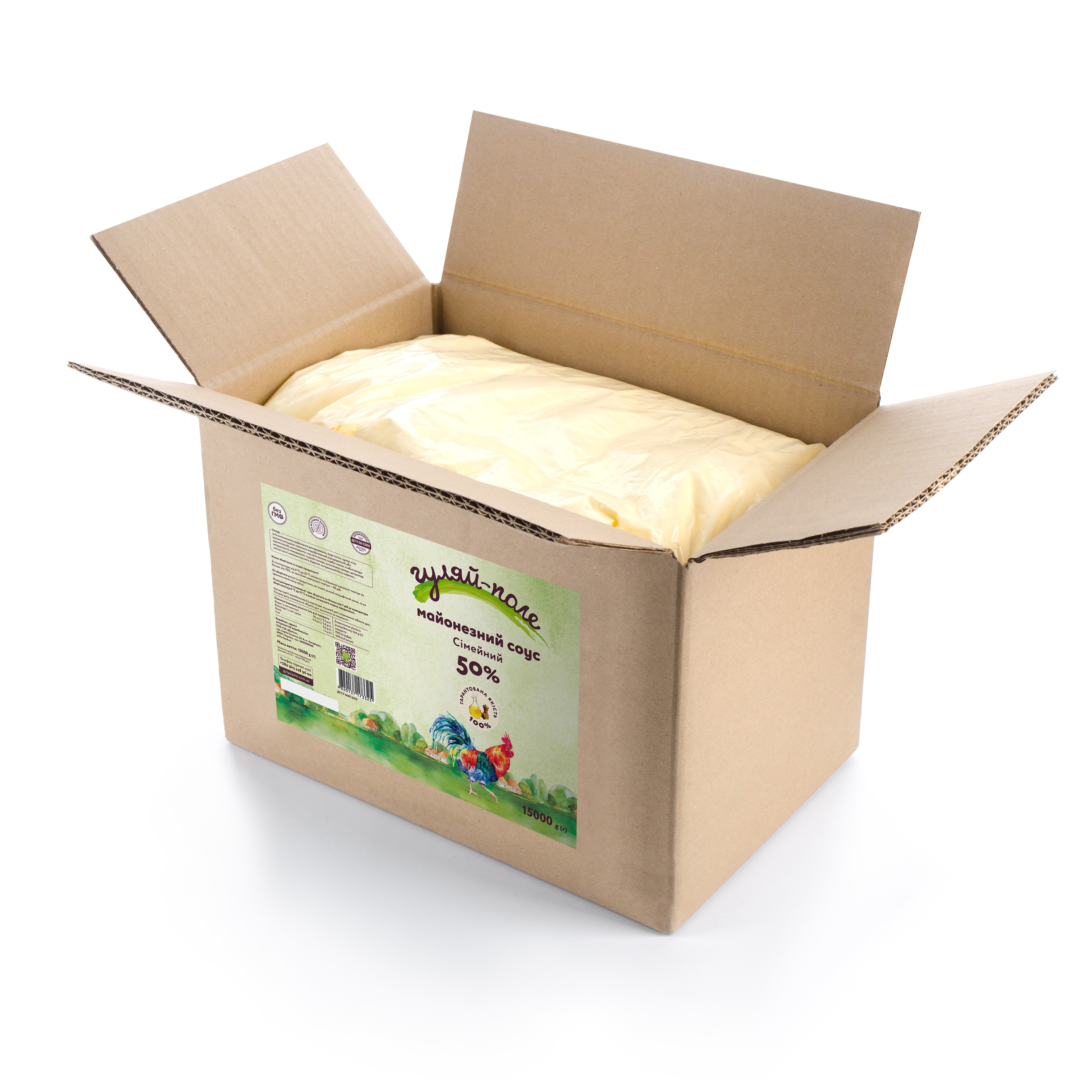 Mayonnaise sauce For family Гуляй-поле Box 15 kg