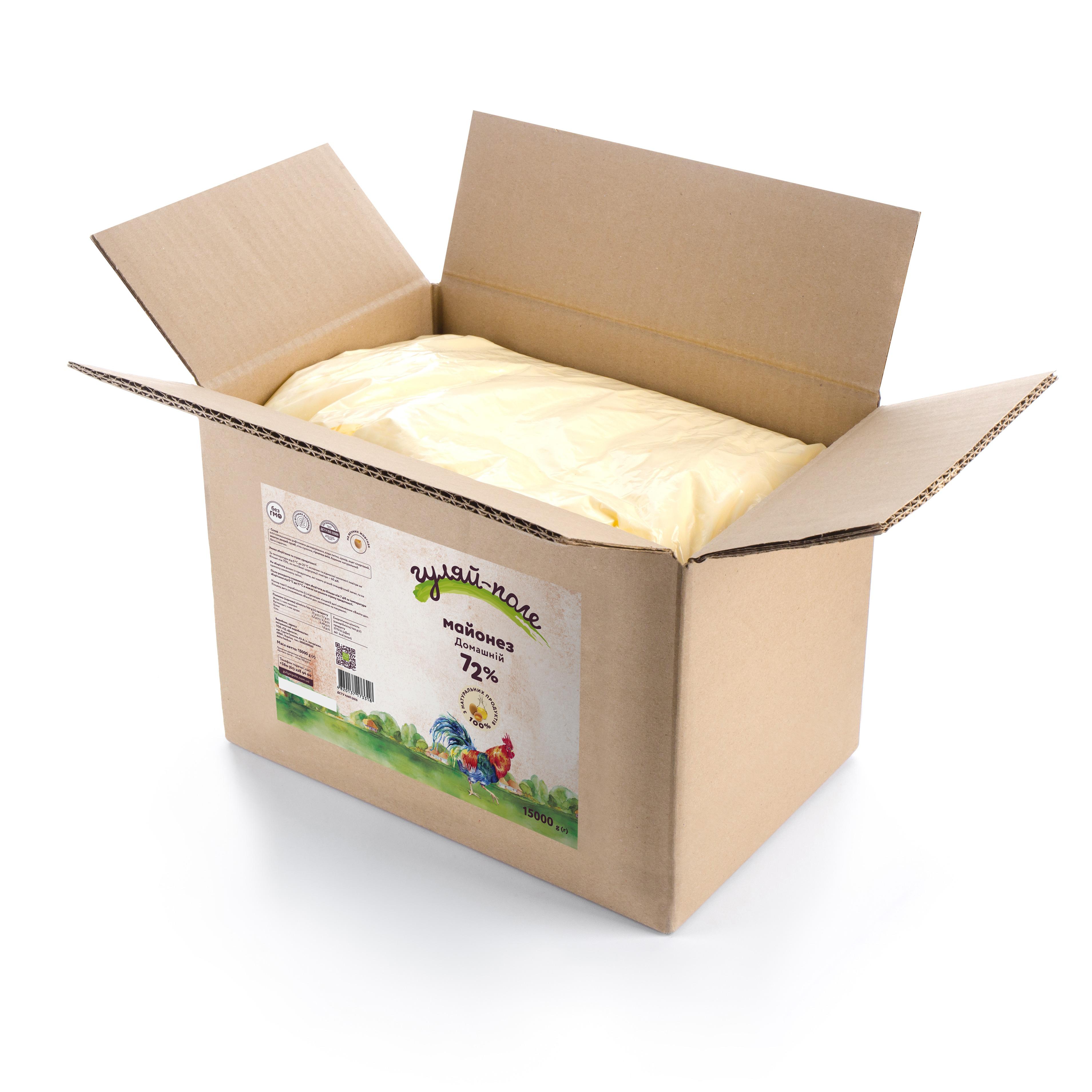 Mayonnaise Homely Гуляй-поле Box 15 kg