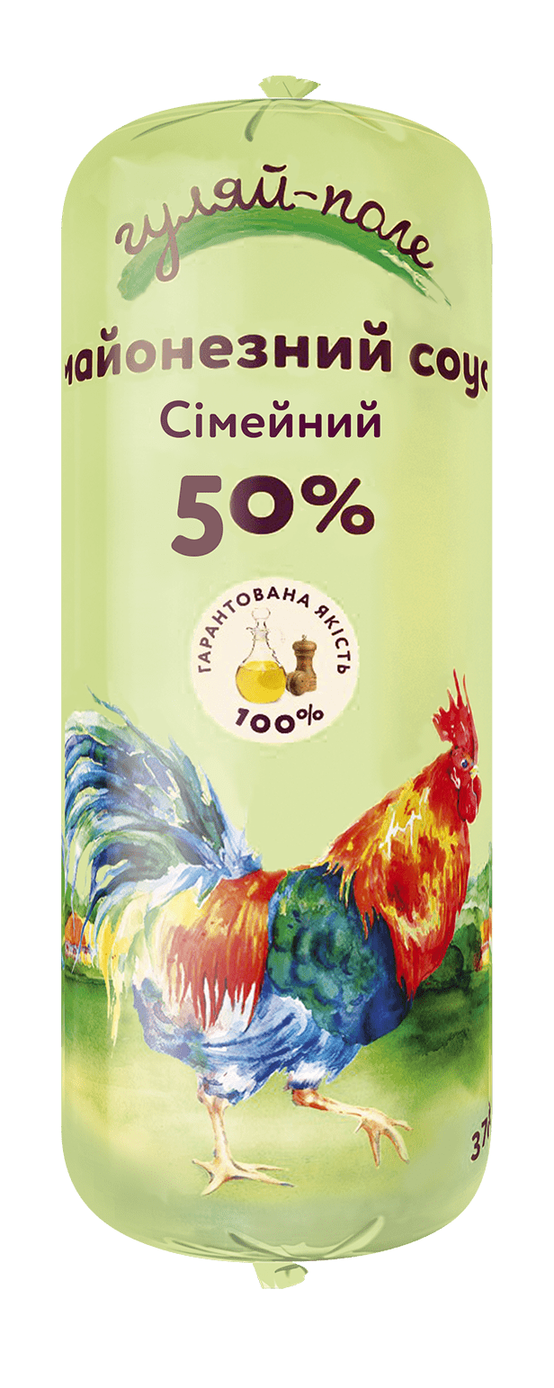Mayonnaise sauce For family Гуляй-поле Tube 370 g