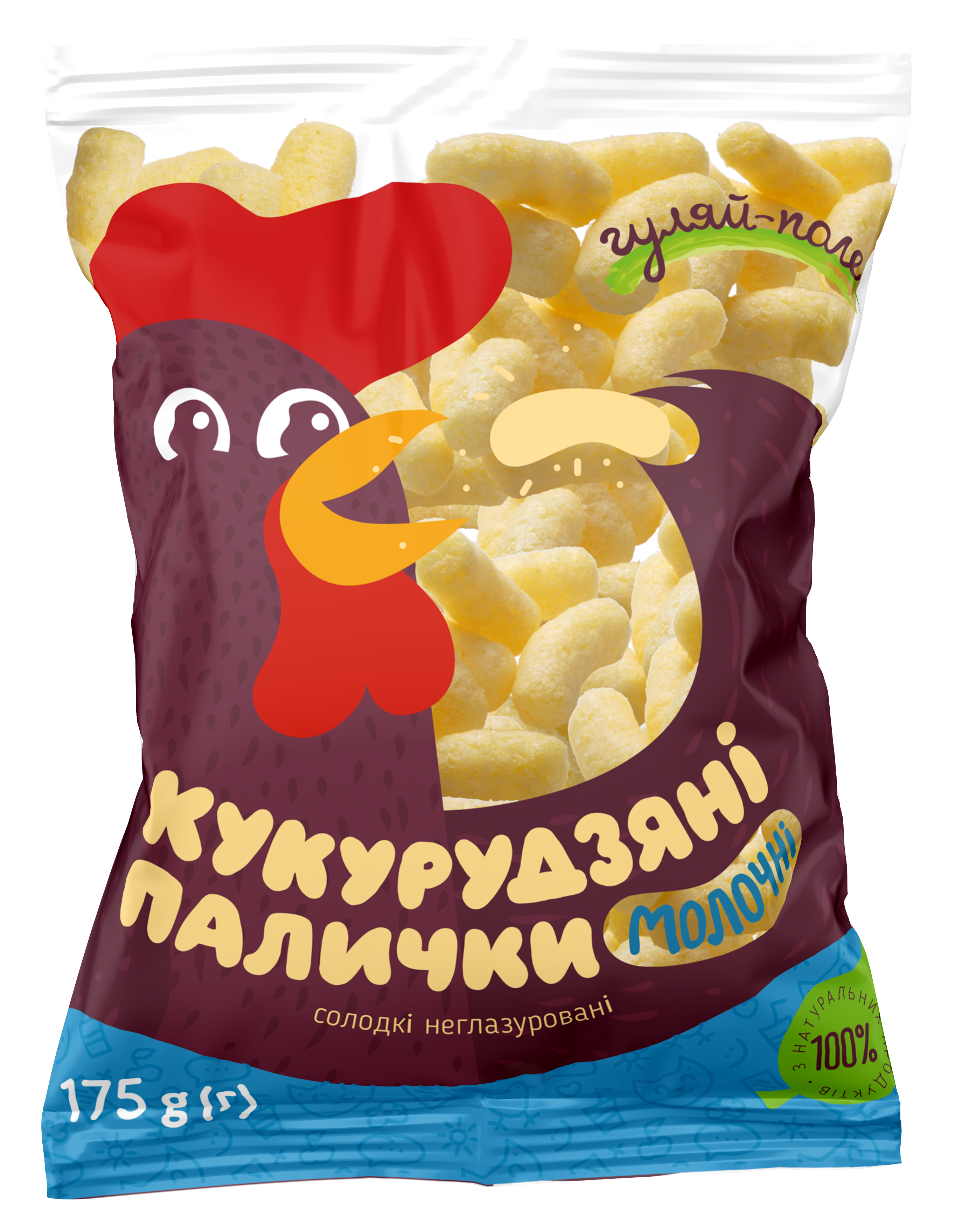 Corn sticks  Гуляй-поле Plastic bag 175 g