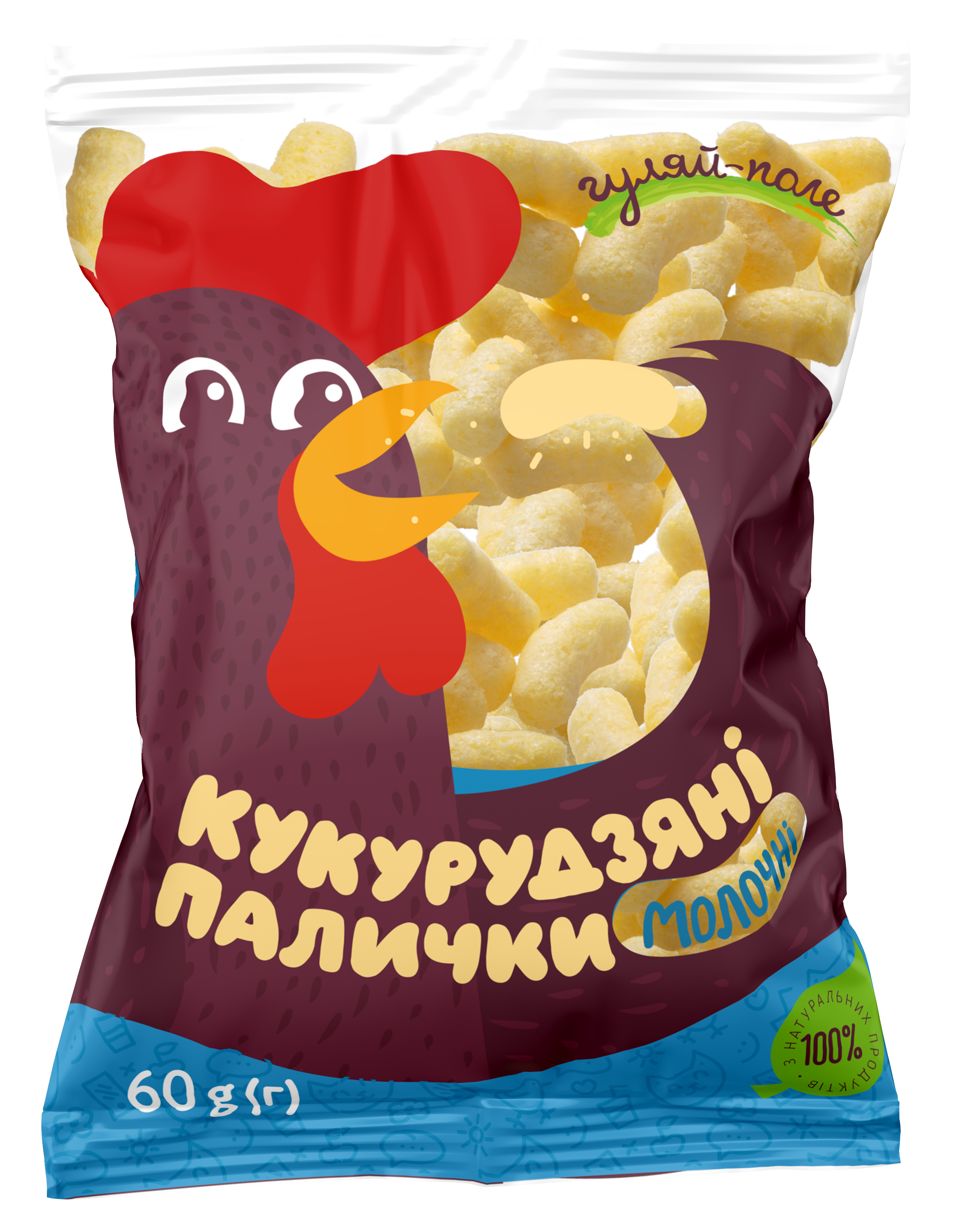 Corn sticks  Гуляй-поле Plastic bag 60 g