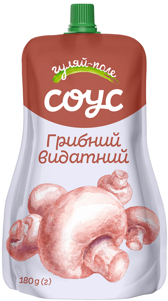 Sauce   Гуляй-поле Mushroom  Doy-pack 180 g