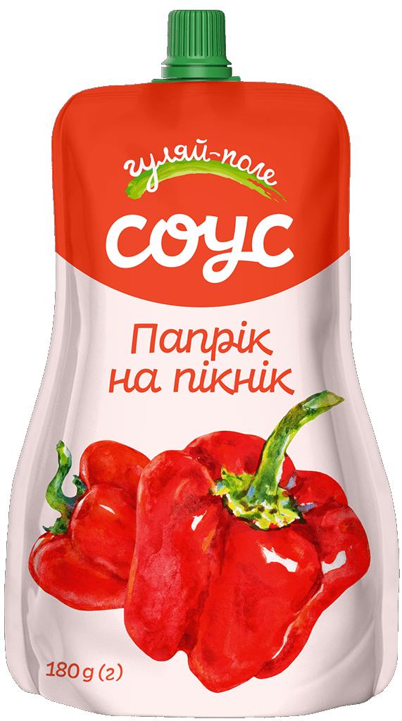 Sauce   Гуляй-поле Paprika  Doy-pack 180 g