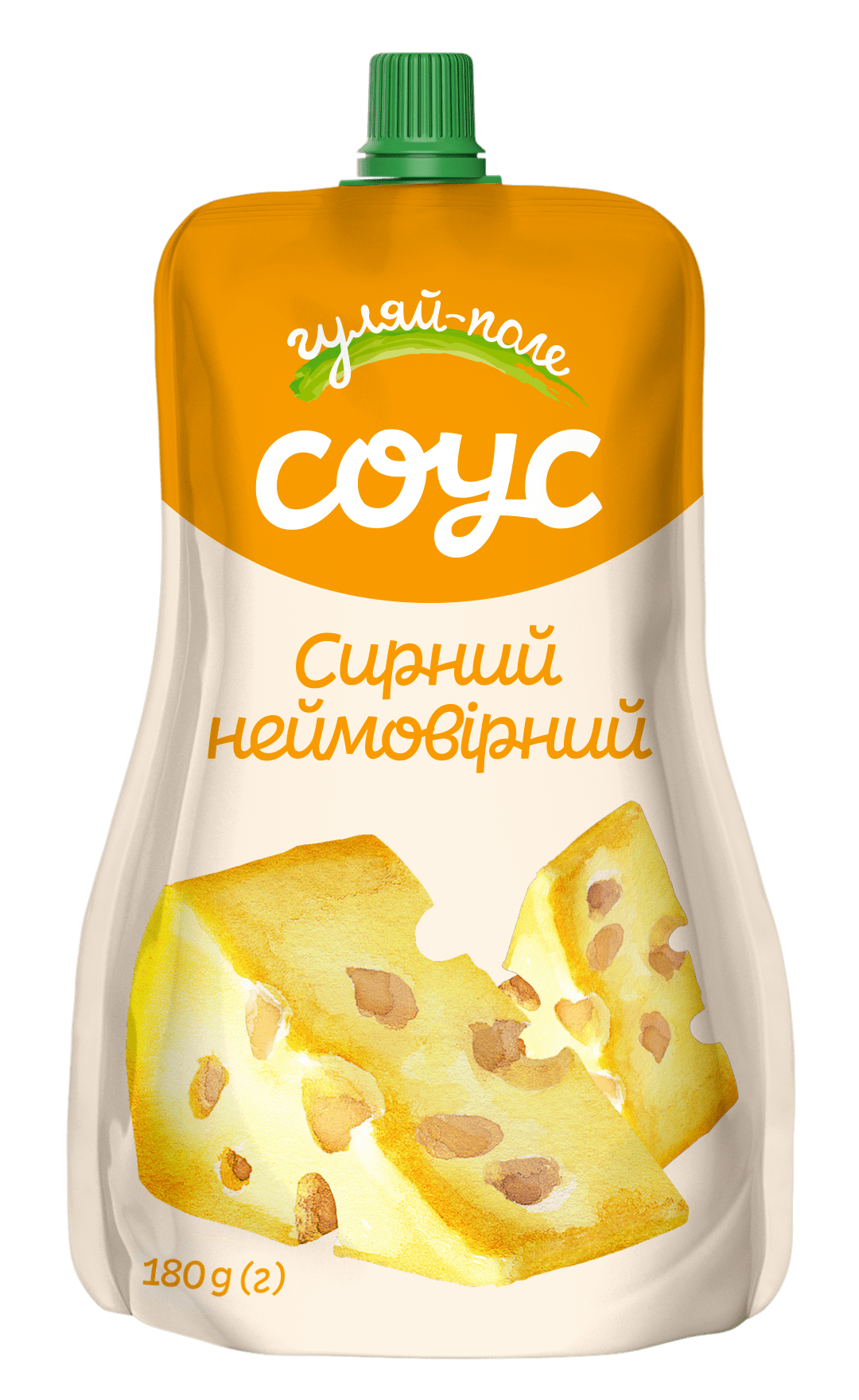Sauce   Гуляй-поле Cheese sauce  Doy-pack 180 g