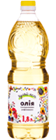 Sunflower oil refined deodorized  Гуляй-поле 1.8 L  1660 g