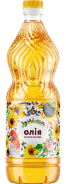 Sunflower oil refined deodorized  Гуляй-поле 1L  920 g