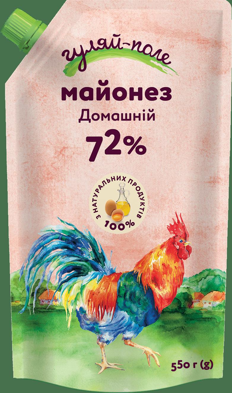 Mayonnaise Homely Гуляй-поле Doy-pack 550 g